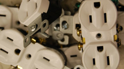 Image of electrical outlets
