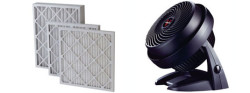 Heating & Cooling filters - fan