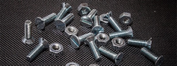 Image of loose screws and nuts