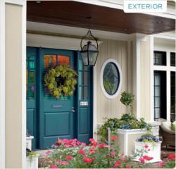 Valspar exterior paint example
