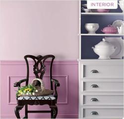 Valspar interior paint example