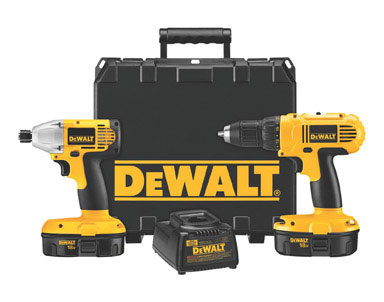 DEWALT 18-Volt Compact Lithium-Ion Drill/Impact Combo Kit thumbnail