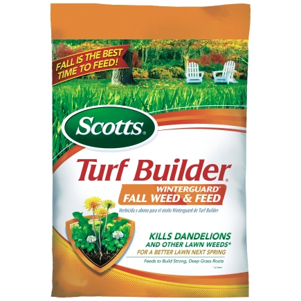 Scotts 15MTurf Builder Winterguard Fall Weed & Feed thumbnail