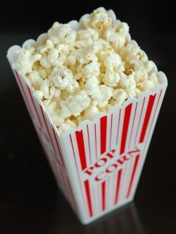 Image of a box of popcorn.