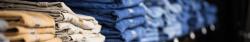 Dakata Workweark image of jeans rack.