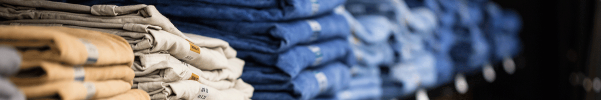 Dakata Workweark image of jeans rack.