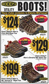 Keen Boots Great Prices $124, $129 and $199