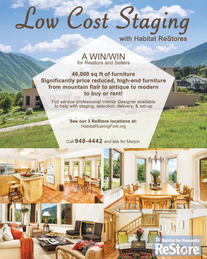 Restore Home Staging Habitat For Humanity Roaring Fork Valley