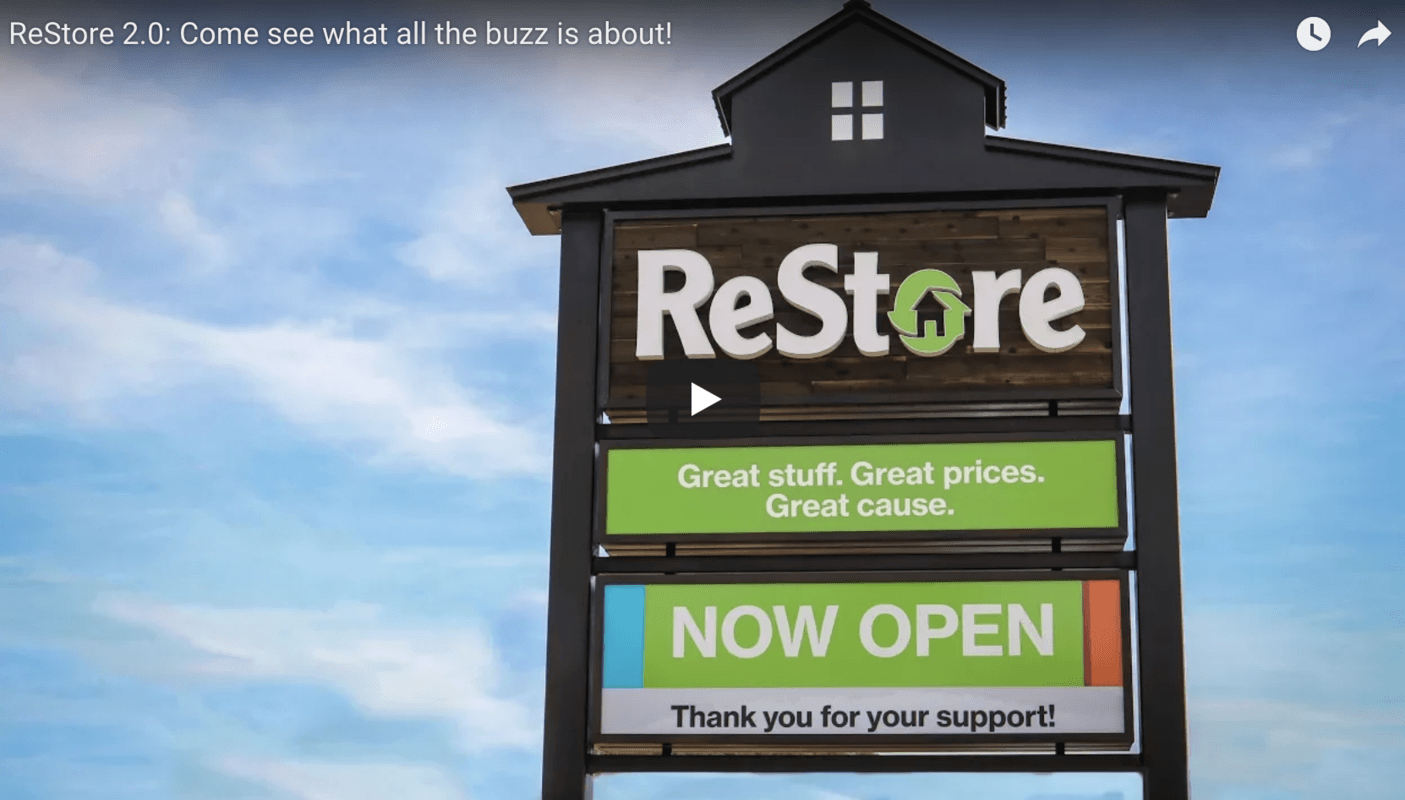 Habitat for Humanity Roaring Fork Valley Glenwood Springs: Restore Sign