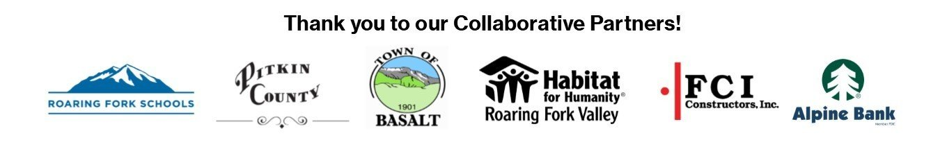 Habitat for Humanity Roaring Fork Valley Collaborative Partners Logos
