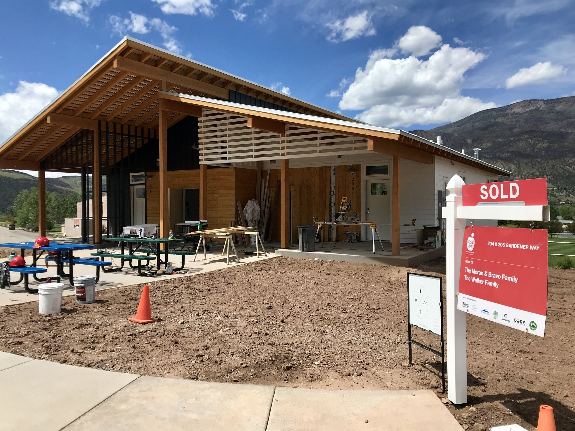 Habitat For Humanity's Basalt Project is Melting Pot for Volunteers thumbnail