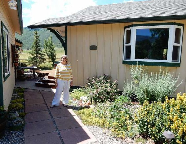 Barbour, Roaring Fork Valley's first recipient of Habitat House, recalls dire times.